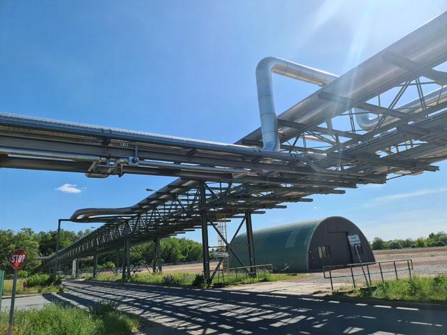 Rohrbrücke InfraLeuna GmbH